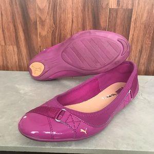 Puma Pink Bixley Glamm Ballet Flats